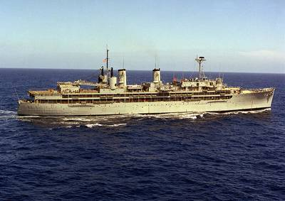 USS Dixie (AD-14). U.S. Navy photo