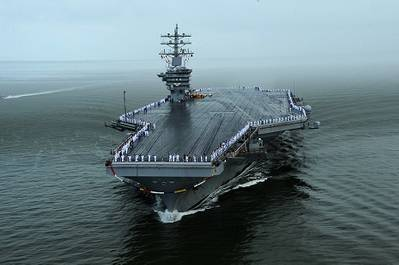 USS Dwight D. Eisenhower (CVN69). (U.S. Navy photo by Mass Communication Specialist 2nd Class Ryan D. McLearnon)