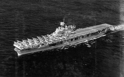 USS Enterprise (CV-6) (Photo: US Navy and Marine Corps Museum/Naval Aviation Museum)