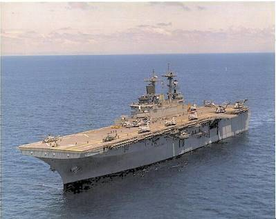 USS Essex (LHD 2) (U.S. Navy photo)