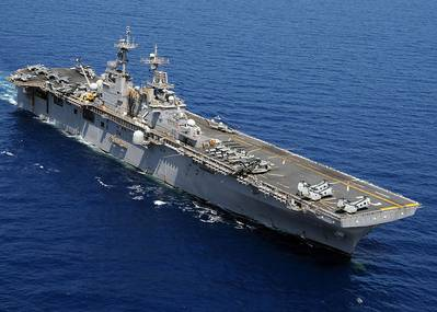 USS Essex: Photo source USN