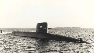 USS Francis Scott Key (SSBN-657). U.S. Navy Photo