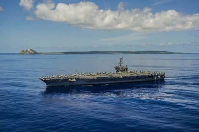 USS George Washington (CVN 73). U.S. Navy photo