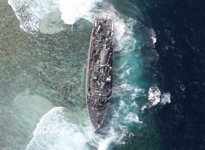 USS Guardian: Photo credit Philippine Coast Guard