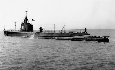USS Gudgeon (U.S. Navy photo)