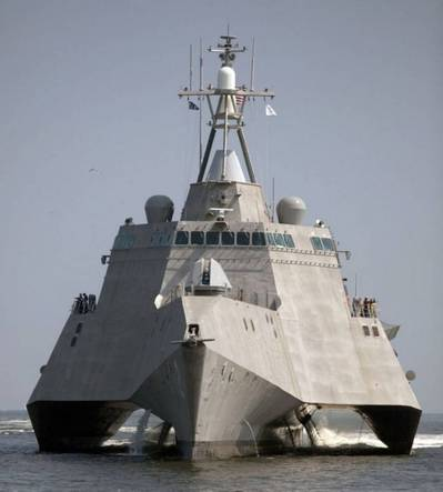 USS Independence: Photo courtesy of Austal