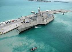 USS Independence: Photo credit USN