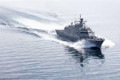 USS Indianapolis (LCS 17) (Photo: Lockheed Martin)