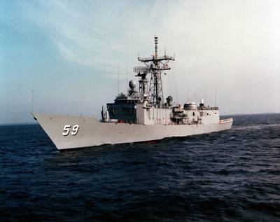 USS Kauffman: Photo credit USN