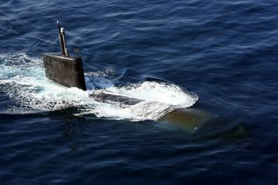 USS Miami: Photo credit USN