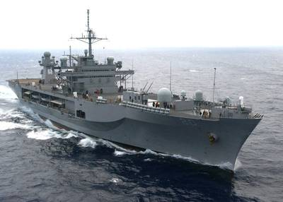 USS Mount Whitney: Photo USN