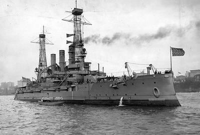 USS New Hampshire (U.S. Navy photo)
