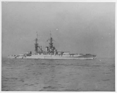 USS New Mexico (BB-40) during the early or middle 1920s (U.S. Naval History and Heritage Command Photograph)