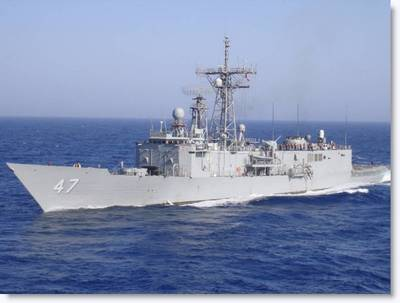 USS Nicholas (U.S. Navy photo)