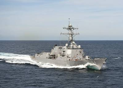 USS Nitze (U.S. Navy photo by Scott Pittman)