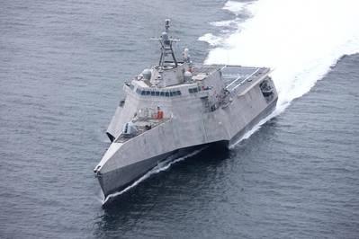 USS Oakland acceptance trials - Credit: Austal