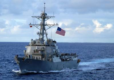 USS Oscar Austin (DDG 79). U.S. Navy photo.