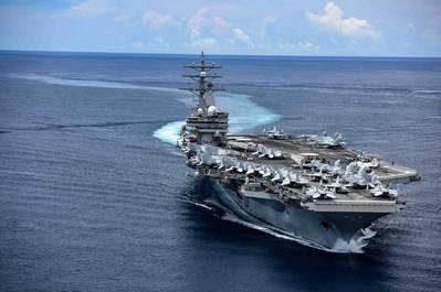 USS Ronald Reagan - (U.S. Navy photo by Mass Communication Specialist 3rd Class Jason Tarleton/Released)
