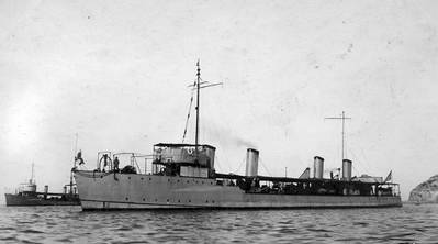 USS Stewart (DD-13). U.S. Naval History and Heritage Command Photograph.