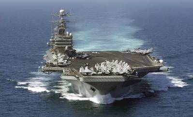 USS Theodore Roosevelt: Photo credit USN