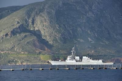 USS Truxton: Photo courtesy of USN