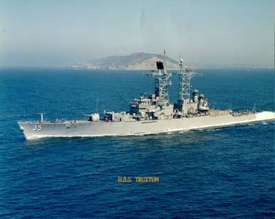 USS Truxtun (Official U.S. Navy Photo)