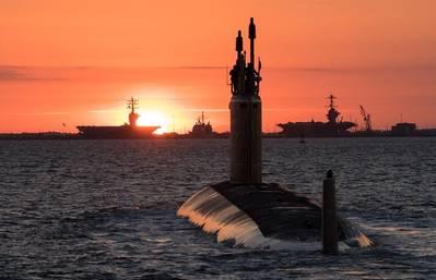 USS Washington. Photo: United States Navy