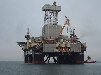 Illustration; Saipem's offshore drilling rig Scarabeo 8 - Image by Kvitrud - Wikimedia Commons - CC BY-SA 3.0