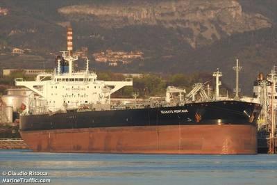 Illustration - Seaways Montauk tanker - Credit: Claudio Ritossa