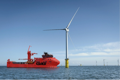 Esvagt's latest windfarm Service Operations Vessels will be equipped with davits from Vestdavit that offer safe and comfortable boat launching and recovery even in the most challenging conditions (Photo: Havyard)