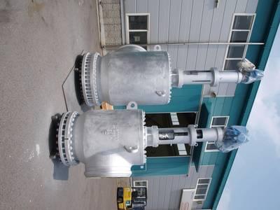 Valstone's angle globe valves. (Photo: Metso)