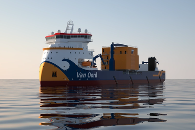 Van Oord orders new SRI vessel for its Offshore division