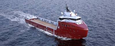 VARD 1 08. Overall length: 81m, Breadth 18m, 4,000 dwt. (Image courtesy of Vard)