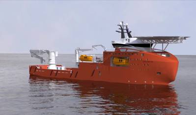 VARD 3 03 vessel: Image credit the shipbuilders