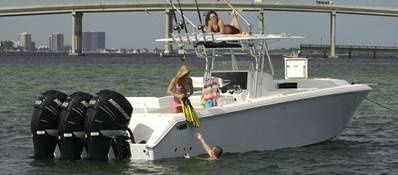 Venture Boats 39' Cuddy: Photo credit Venture Boats