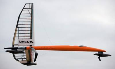 'Vestas Sailrocket 2': Image credit Vestas