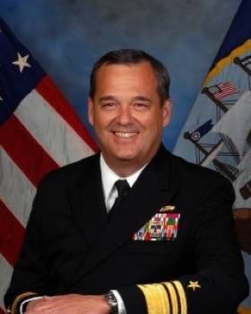 Vice Admiral Tom Copeman: Photo credit USN