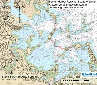 Vicinity Map Seagate Boston. (Image courtesy Tighe & Bond)