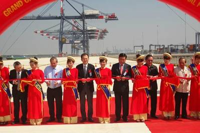 Vietnam Port Inauguration: Photo credit Vietnam Government