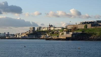 View of Plymouth: Photo credit Geographia/Derek Harper