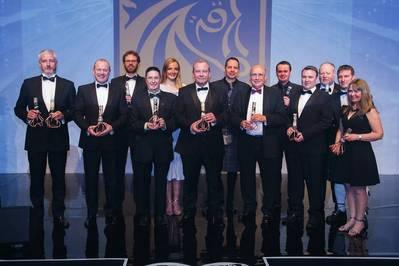 Previous Offshore Achievement Award winners provided by Offshore Achievement Awards