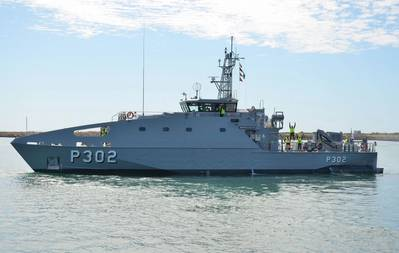 VOEA Ngahau Siliva is a 39.5-meter Guardian Class Patrol Boat, designed and constructed by Austal Australia. (Photo: Austal)