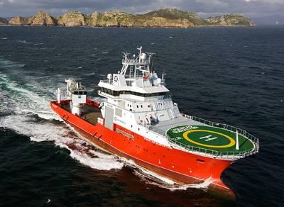 Volstad IMR Offshore Vessel: Image credit Volstad