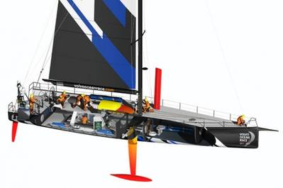 Volvo Ocean Race Competitor: Image courtesy of Volvo Ocean Race