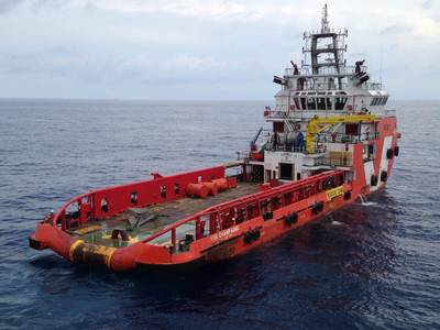 VOS Champagne (Photo: Vroon Offshore Services)