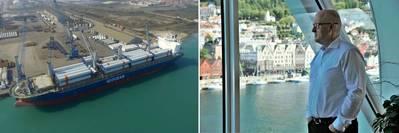 VP Innovation and Project Cargo Leif Arne Strømmen. Photo: G2 Ocean