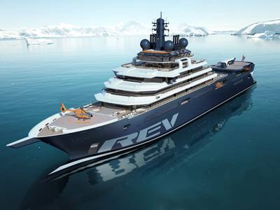 V.Ships Leisure has been appointed as ship management company for REV Ocean, the world's largest research and expedition vessel.  (Photo: REV Ocean)