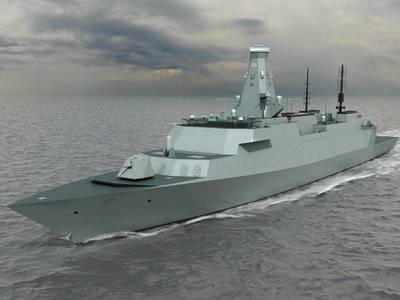 Warship T26 GCS: Image credit MOD