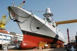 Warship 'Virginio Fasan': Photo credit Fincantieri