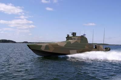 Watercat M18 AMC: Image courtesy of Scania
